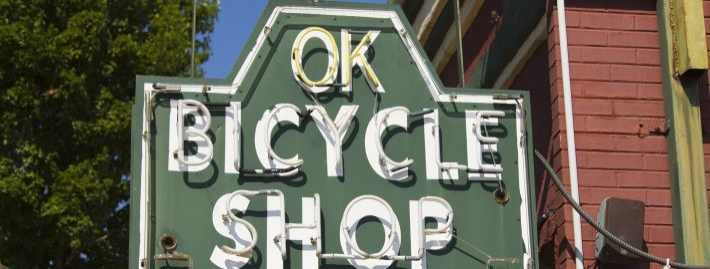 OK Bicycle Shop Mobile Alabama Dauphin Street