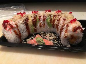 Angel Roll from Benja's Thai and Sushi Restaurant in Mobile, Alabama