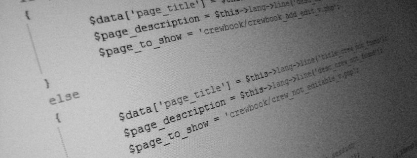Code Header Description Title